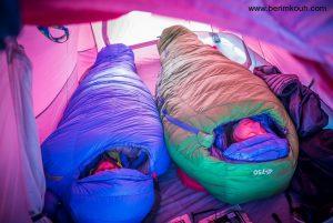 تاثیر خواب در کوهنوردی