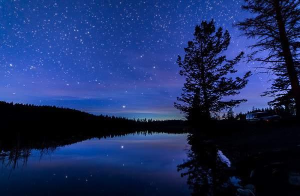 کوهنوردی در شب