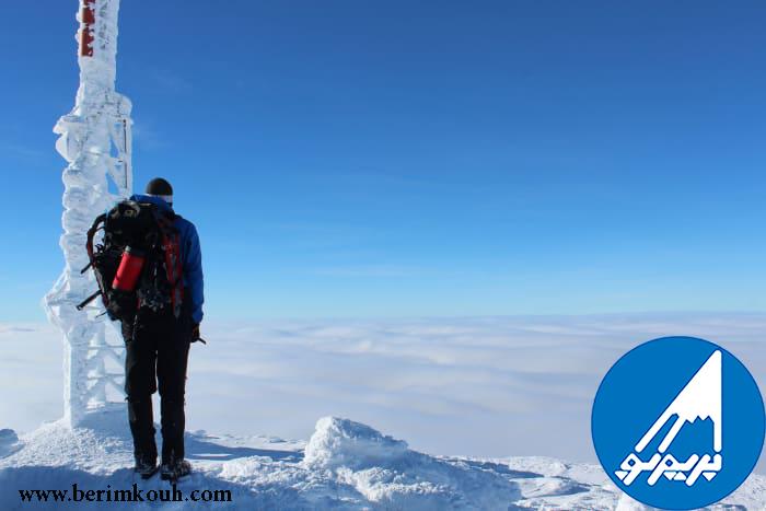 5 نکته برای کوهنوردی در زمستان