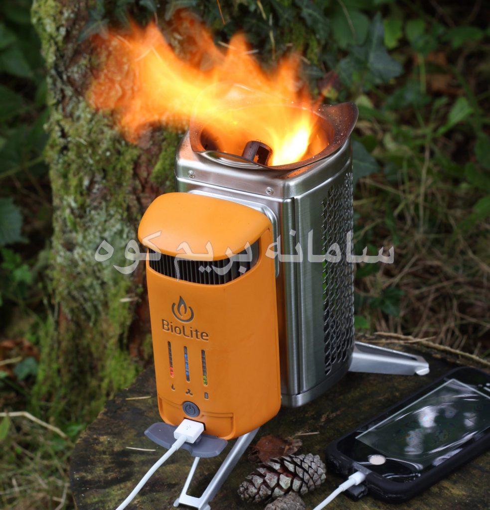اجاق سوخت جایگزین BIOLITE CAMP STOVE 2