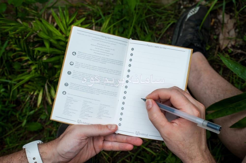 ثبت وقایع صعود تنها با یک دفترچه و خودکار