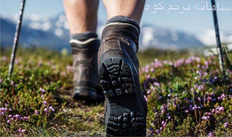 قدم برداشتن در محیط های هموار
