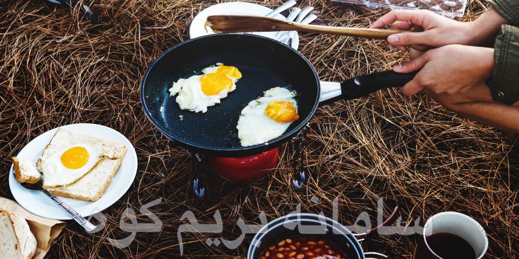 آشپزی در کوهستان