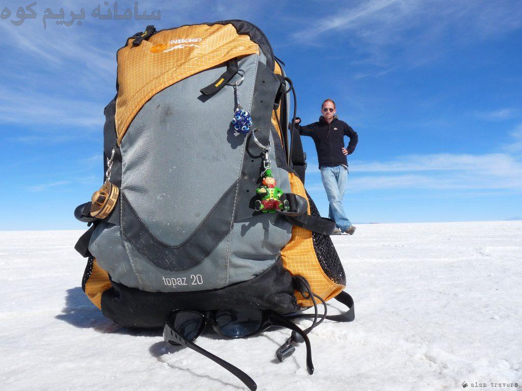 کوله پشتی های بیش از حد سنگین در کوهنوردی