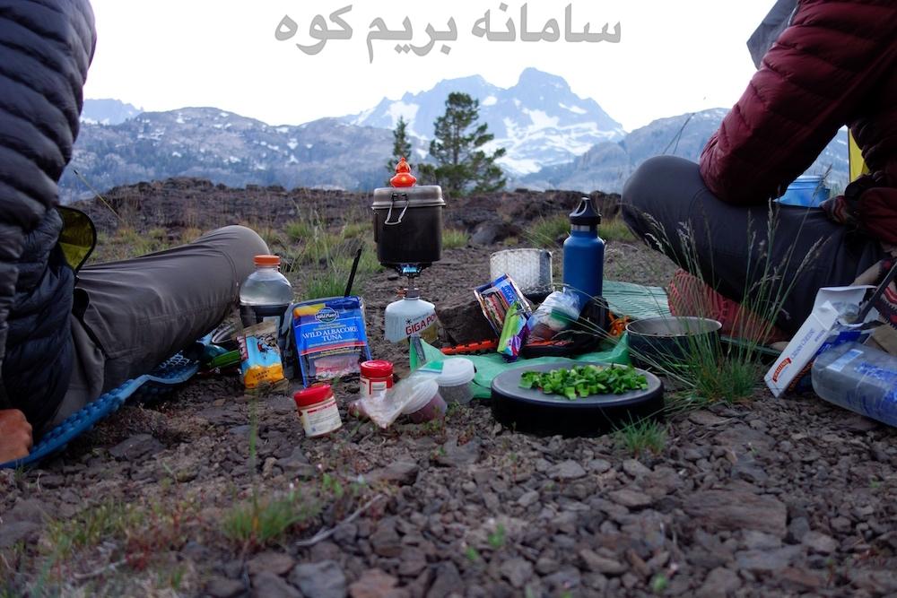 غذای کوهنوردی
