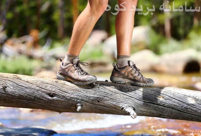 بالابردن تعادل بدن در کوهنوردی