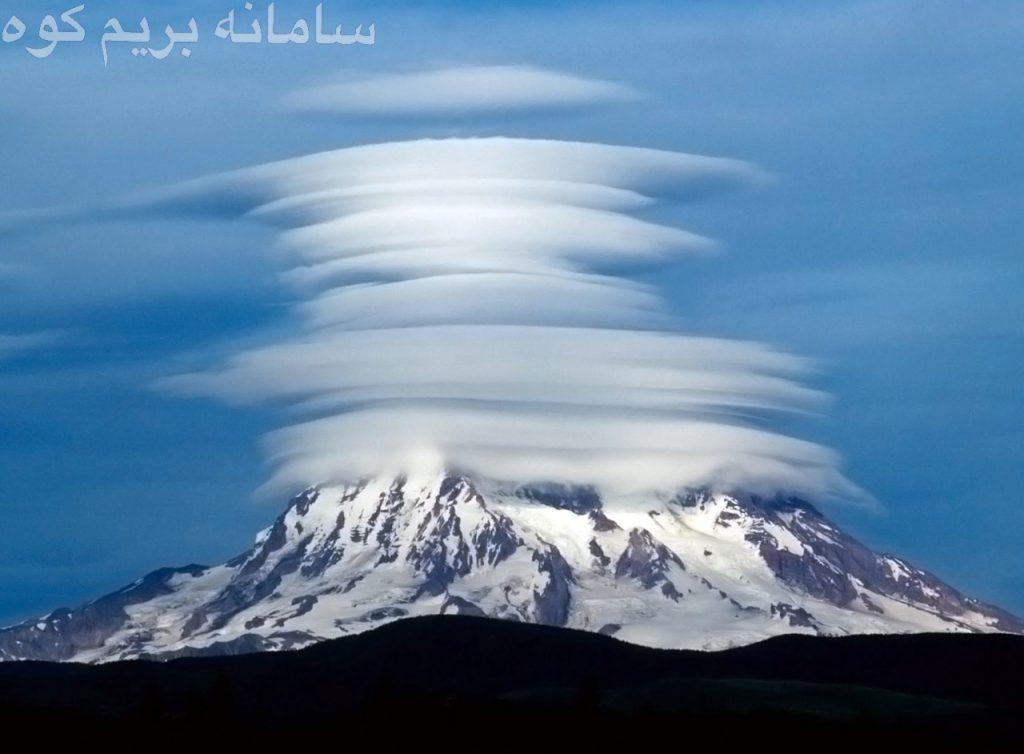 ابرهای عدسی شکل