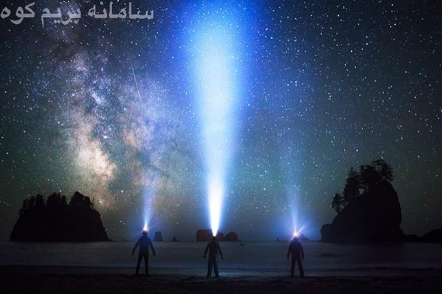 نوع و مسافت پرتوی نور هدلامپ ها