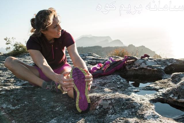 تمرینات کششی در کوهنوردی
