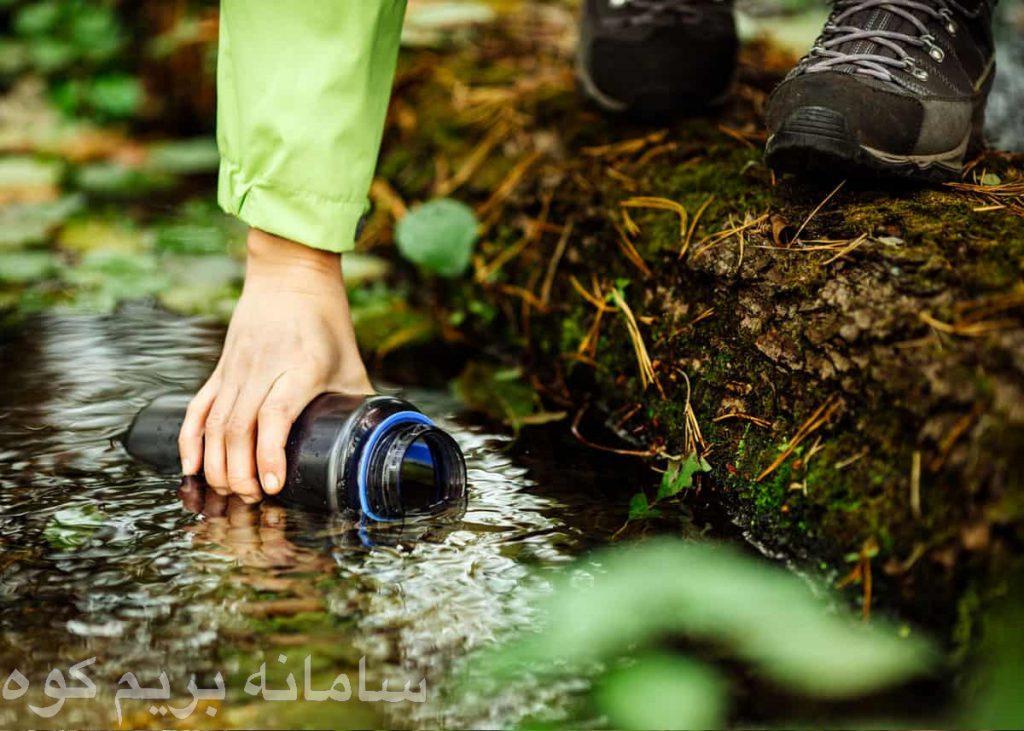 آب در کوهنوردی