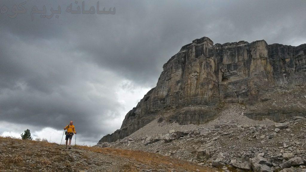 رعد و برق در هنگام کوهنوردی