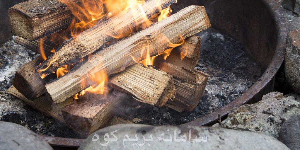 شیوه ای صحیح برای برپایی آتش در جنگل ، فرا بگیرید.