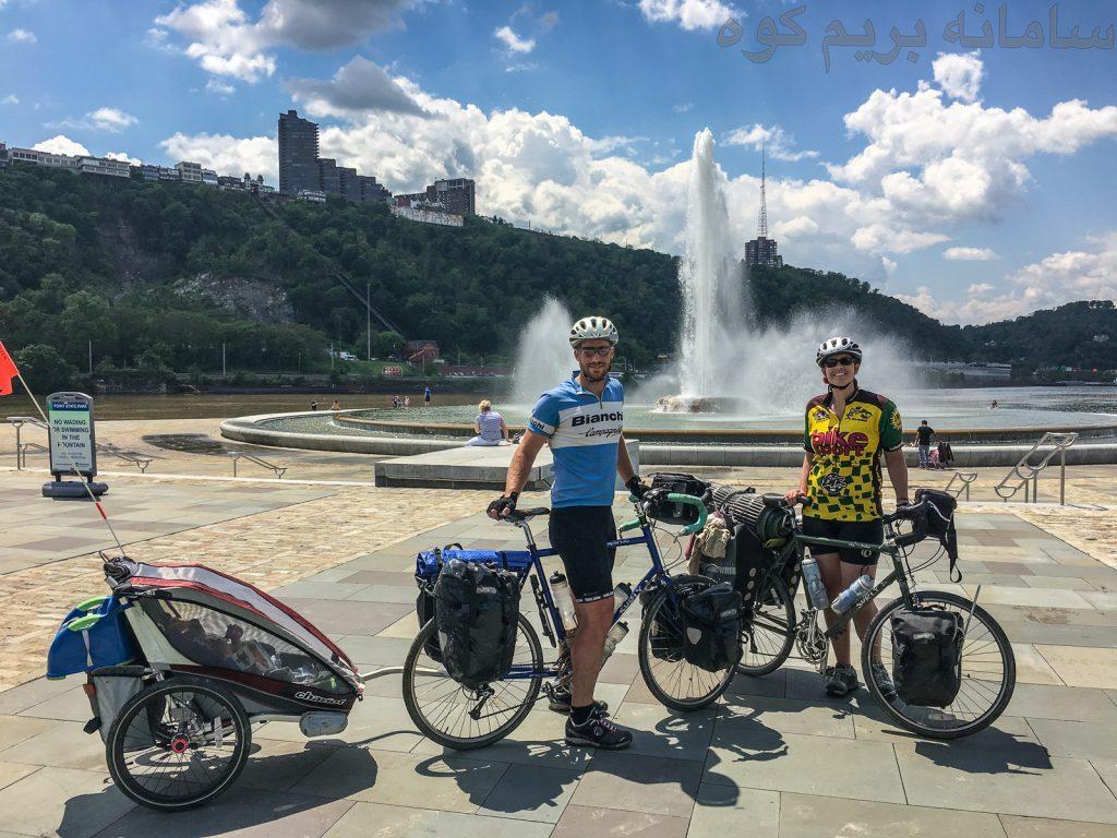 دوچرخه سواری در گردشگری
