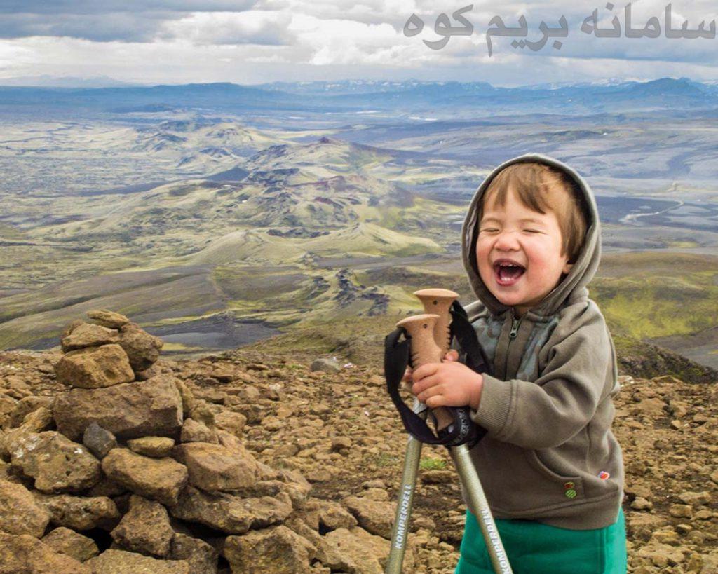 هنگام کوهنوردی ، یک دوربین با خود داشته باشید !