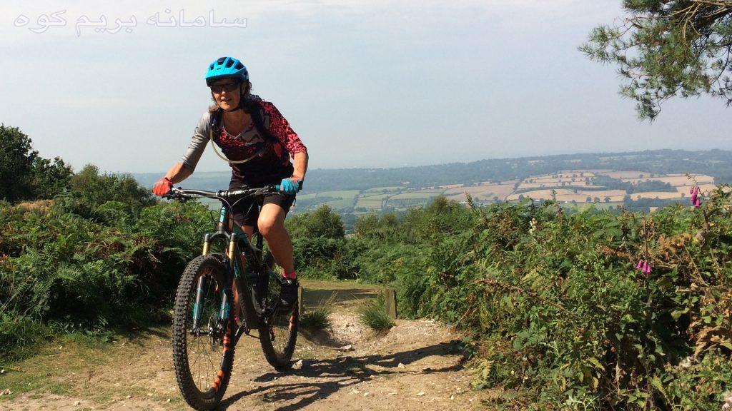 دوچرخه در کوهستان