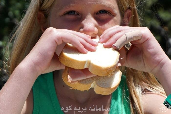 می توانید در مسیر کوهنوردی ، غذای ترکیبی درست کنید !