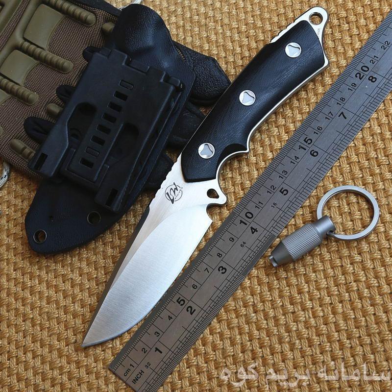 چاقو های تیغه ثابت از یک تیکه فولاد سخت درست شده اند که در مقایسه با دیگر انواع چاقو ها، از مقاومت و قدرت برش بیشتری برخوردارند.