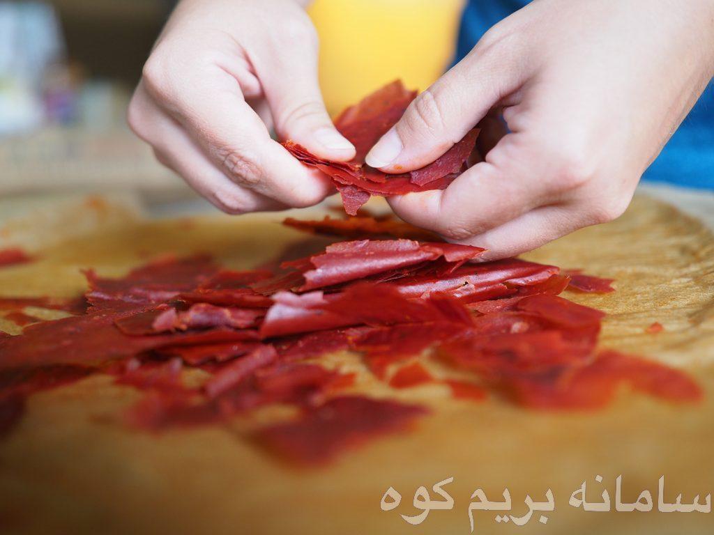 دستورالعمل : سس گوجه فرنگی