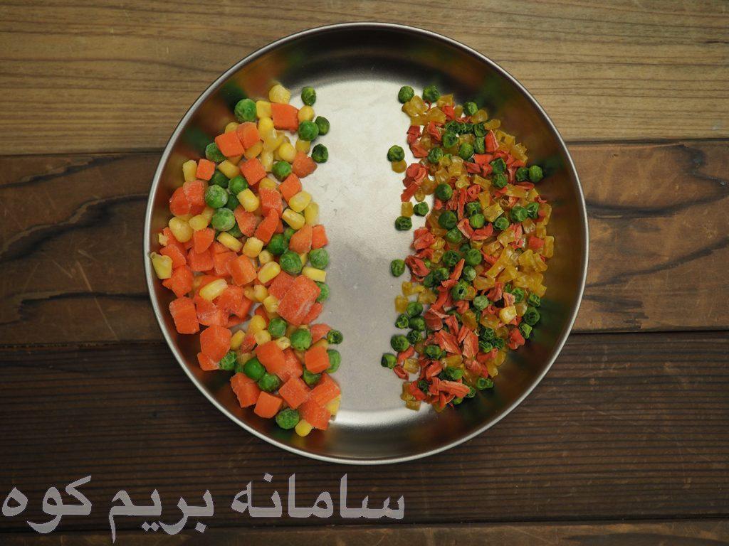نکته ی کلی راجع به خشک کردن سبزیجات، این است که اگر می توانید آن ها را به صورت خام بخورید ، نیازی به پختن آن ها قبل از خشک کردن ندارید