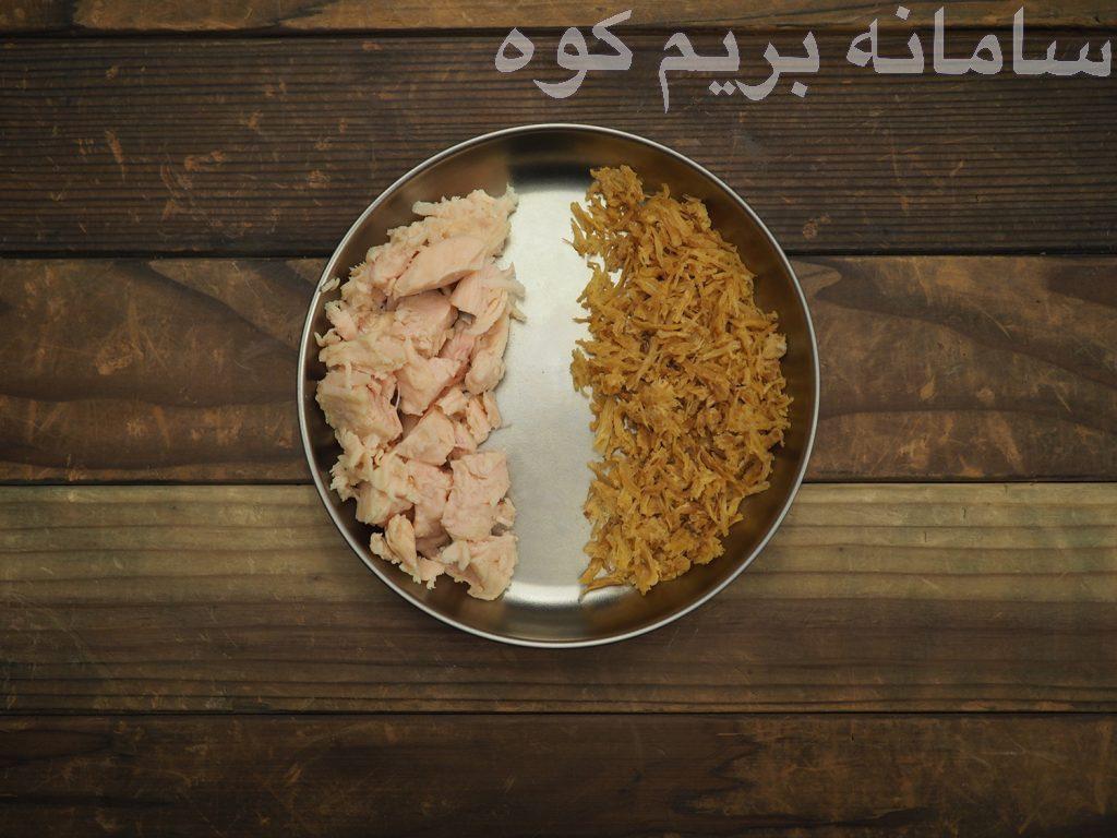 به مرغ های پخته شده در خانه نمی توانید آب را برگردانید ، پس باید یا آن ها را کنسرو و یا با زودپز بپزید