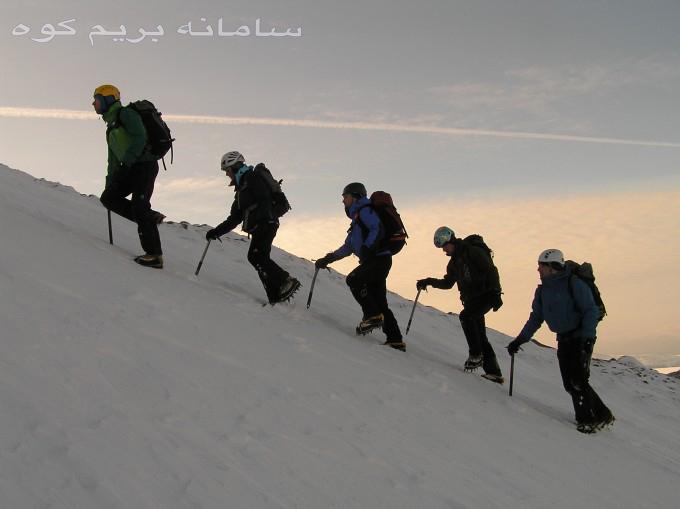 سرپرست گروه کوهنوردی