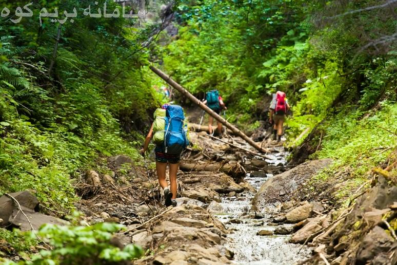 با هر بار صعود ،  طبیعت و محیط زیست را تمیز تر از لحظه ی ورود خود بکنید !