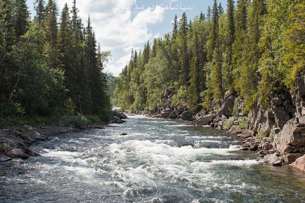 بررسی شرایط رودخانه برای عبور
