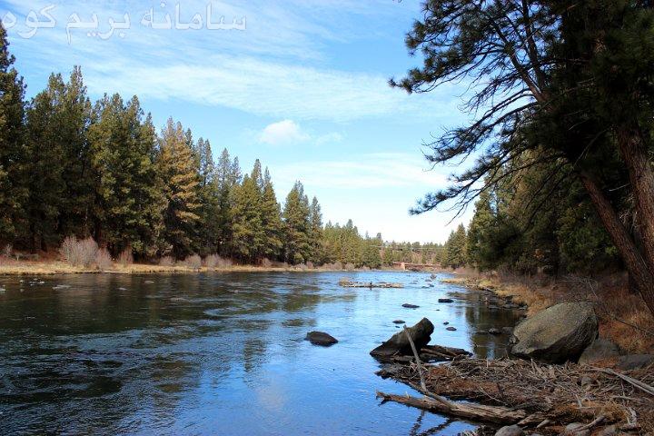 در برخورد با رودخانه ها کمی فکر کنید و محل ورودتان به آب را به دقت انتخاب کنید.