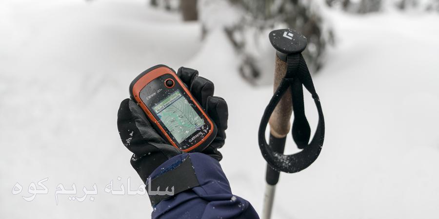نکات امنیتی پیاده روی در برف