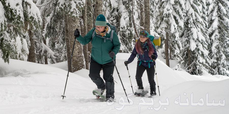 برای پیاده روی در برف به کجا برویم؟