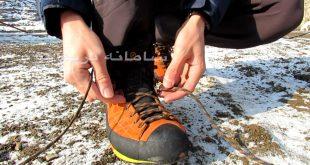 گره کفش کوهنوردی