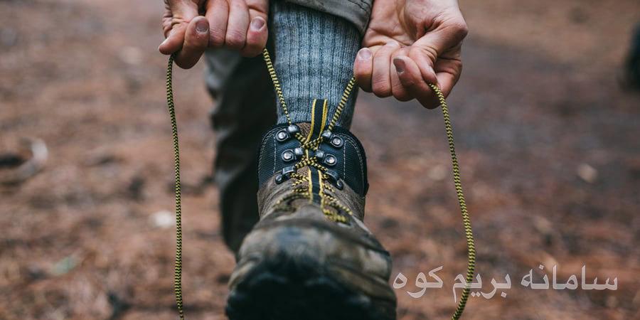 کفش برای کوهنوردی