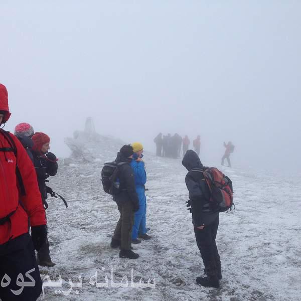 کوهنوردی با اعضای انجمن کوهنوردان