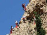 عملیات 2 روزه برای یافتن کوهنورد مفقود شده و انتقال مصدوم از دره ویژدرون ایلام