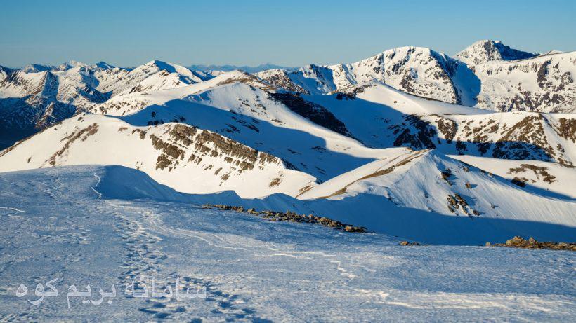 ارتفاعات پوشیده از برف انکلستان