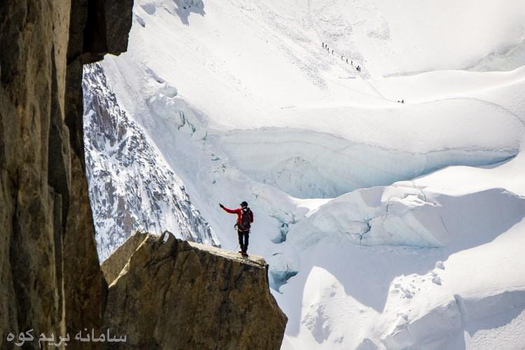 کوهنوردی در زمستان و سختیهای آن