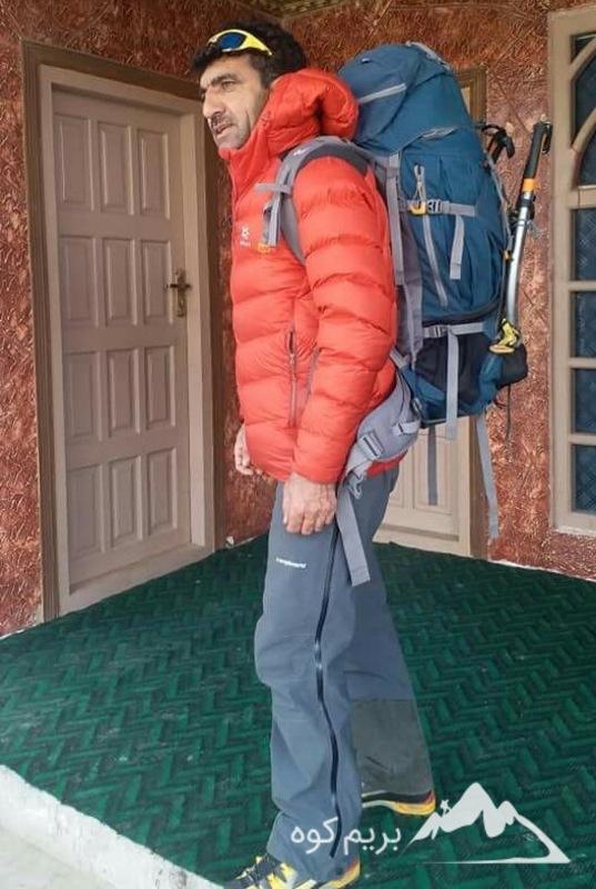 کوهنورد پاکستانی علی سدپارا