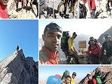 برنامه خط الرأس ایران توسط کوهنوردان کاشمری