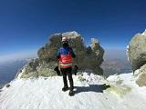 صعود کوهنوردان باشگاه اسپیلت به بلندترین یخچال طبیعی ایران