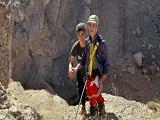 نجات نوجوان در کوههای اطراف تفرش