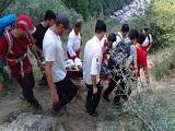 نجات بیمار قلبی از ارتفاعات زیارت گرگان