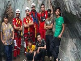 نجات ۵ نوجوان گرفتار در ارتفاعات باقران بیرجند