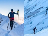 رکورد سرعت جدید درصعود به قله مون بلان (۴۸۰۹ متر)
